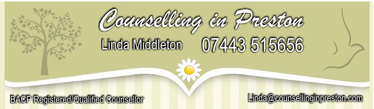 Counselling in Preston with Linda Middleton BACP Registered Counsellor